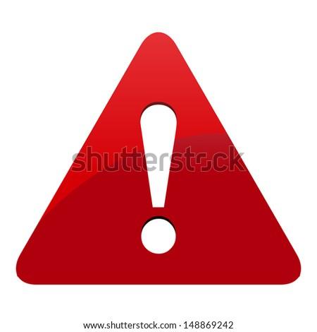 danger warning sign - stock photo