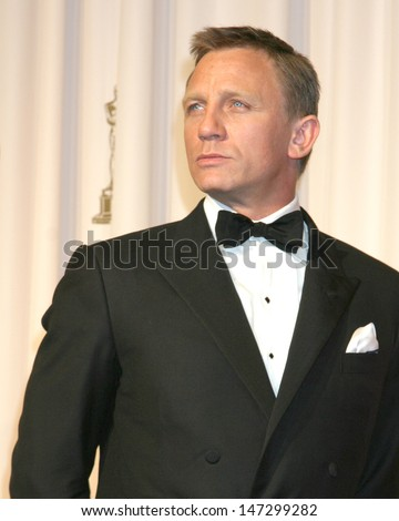 Daniel Craig 79th Annual Academy Awards Kodak Theater  Hollywood & Highland Hollywood, CA February 25, 2007 - stock photo