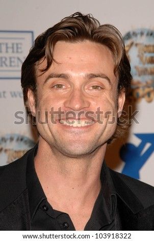 Daniel Goddard at the 2009 World Magic Awards benefitting Feed The Children. Barker Hanger, Santa Monica, CA. 10-10-09