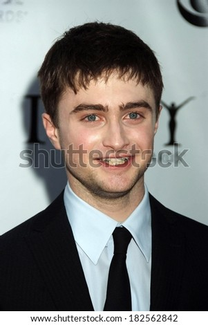 Daniel Radcliffe at ARRIVALS - American Theatre Wing's 2008 Tony Awards, Radio City Music Hall, New York, NY, June 15, 2008