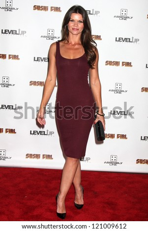 "Danielle Vasinova at the Premiere Of ""Sushi Girl,"" Chinese Theater, Hollywood, CA 11-27-12"