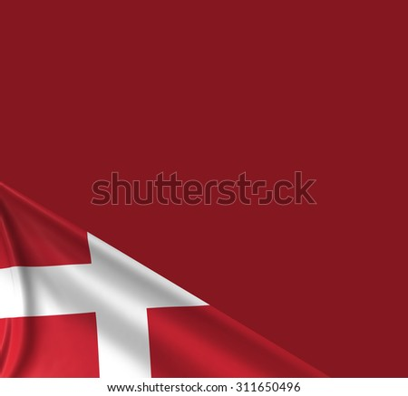 Danish Flag, Denmark Background