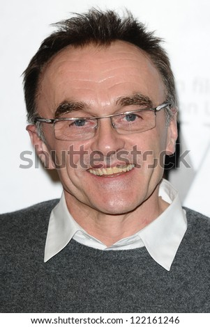 Danny Boyle arriving for the Women in Film and Tv Awards 2012 at the Park Lane Hilton, London. 07/12/2012 Picture by: Steve Vas