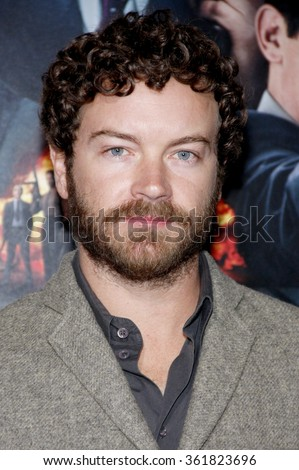 "Danny Masterson at the Los Angeles premiere of ""Gangster Squad"" held at the Grauman's Chinese Theatre in Los Angeles, USA on January 7, 2013. - stock photo"
