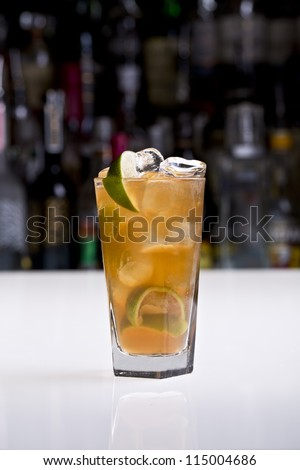 dark and stormy - stock photo