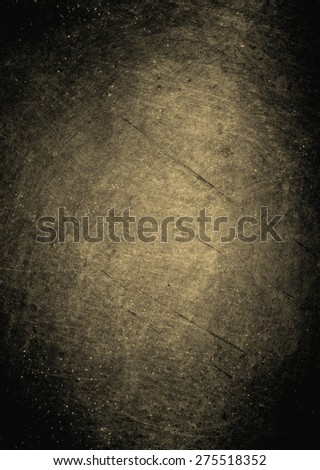 dark background with abstract highlight corner and vintage grunge background texture - stock photo