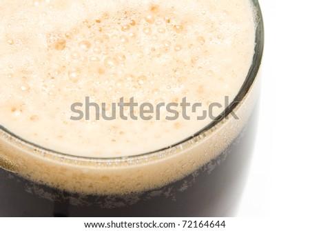dark beer - stock photo