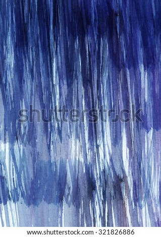 Dark blue and purple abstract watercolor texture, ideal for your design. Background based on stripes, stains and streaks.