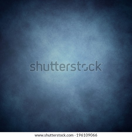 dark blue background with abstract highlight corner and vintage grunge background texture - stock photo