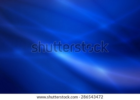 dark blue curve and line abstract background - stock photo