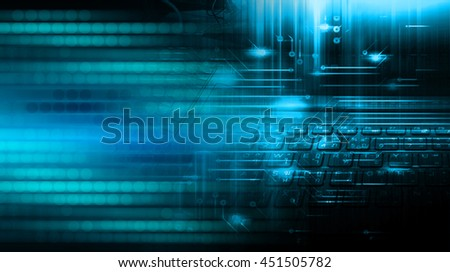 dark blue cyber Light Abstract Technology background for computer graphic website internet business. circuit. illustration. digital. infographics. binary code. www. motion move speed