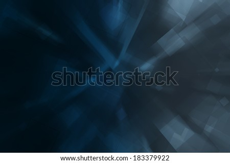 dark blue hi-tech abstract background - stock photo