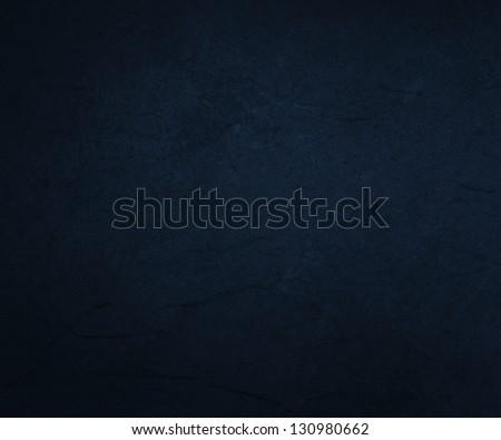 Dark Blue Paper Background Texture - stock photo