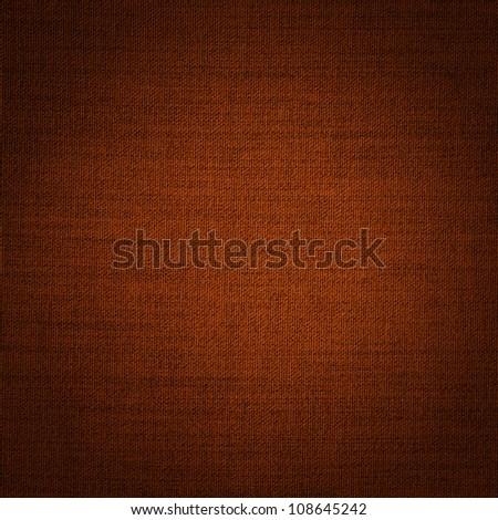 dark brown fabric - stock photo