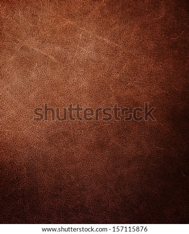 dark brown leather texture. - stock photo