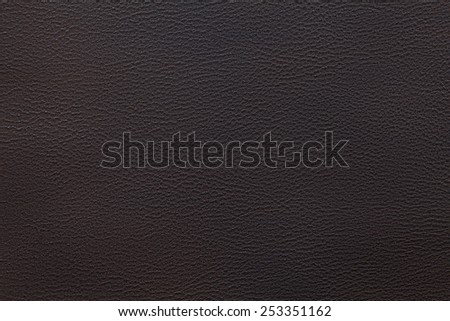 dark brown leather texture closeup can be used as background - stock photo