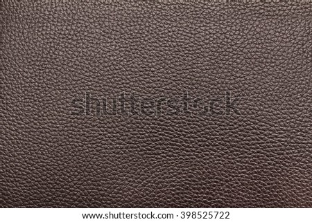 Dark brown leather texture, dark brown leather bag, dark brown leather background for design with copy space for text or image. - stock photo