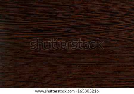 dark brown wood texture, pattern for furniture industry / walnut wood