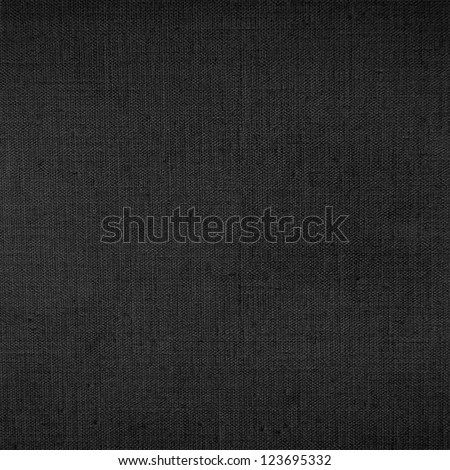 dark canvas texture background with delicate striped pattern - stock photo