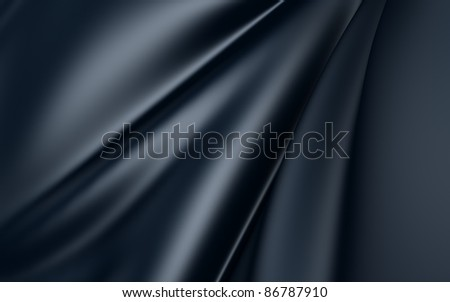 Dark Cloth - stock photo