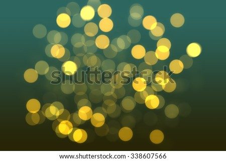 Dark gold and black defocused  - stock photo