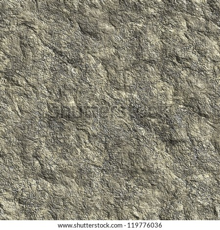 Dark gray rock seamless background - stock photo