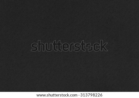 Dark gray striped fabric texture as abstract background - stock photo