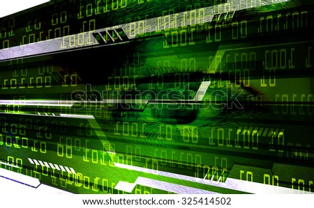 dark green color Light Abstract Technology background for computer graphic website internet and business.circuit. illustration. abstract digital. infographics. motion move blur.neon. eye