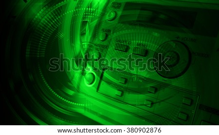 dark green color Light Abstract Technology background for computer graphic website internet and business. circuit. illustration. digital. infographics. binary code background. number