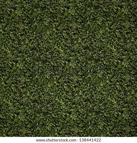 dark green grass background - stock photo