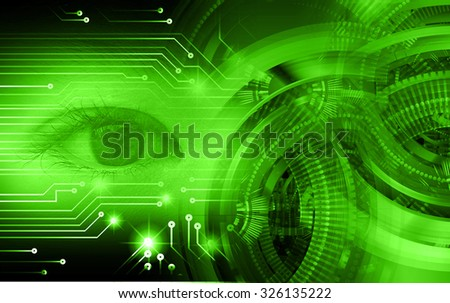 dark green illustration of technology internet network computer background with binary number, style background. infographics. Information. motion blur. pixel. Binary digit. eye