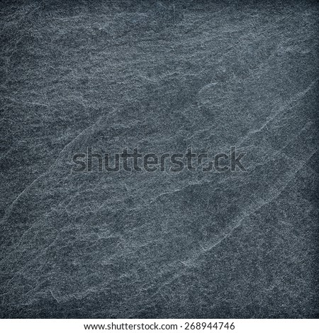Dark grey black slate background or texture - stock photo