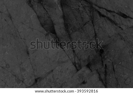 Dark Grey marble texture or abstract background. - stock photo