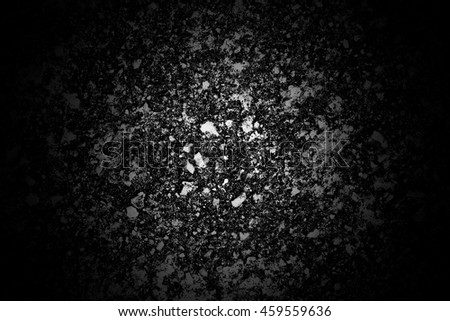 Dark grunge concrete floor vintage abstract texture background - stock photo