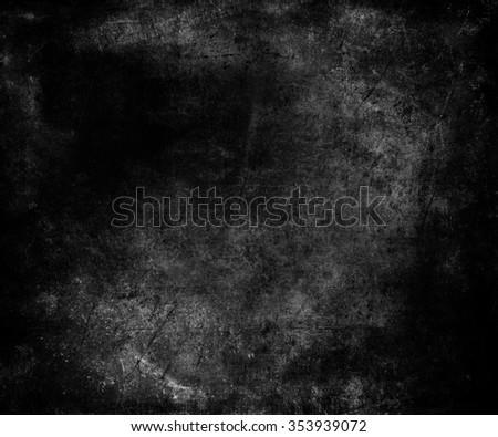 Dark Grunge Texture Background - stock photo