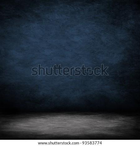 dark interior room - stock photo