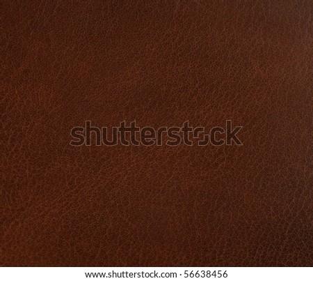 dark leather - stock photo