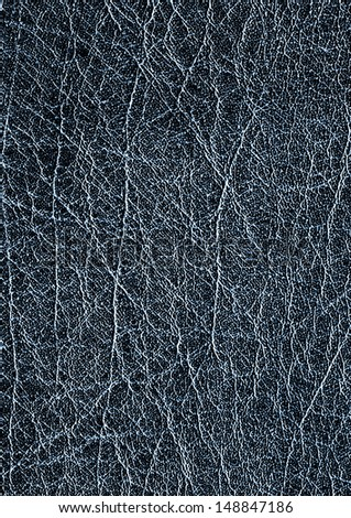 Dark leather, background - stock photo