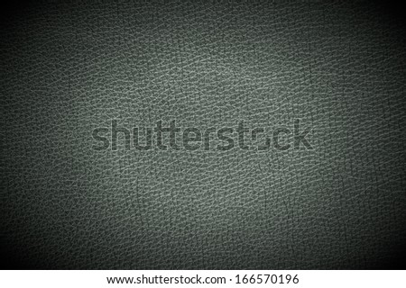Dark Leather Background with Spotlight - stock photo