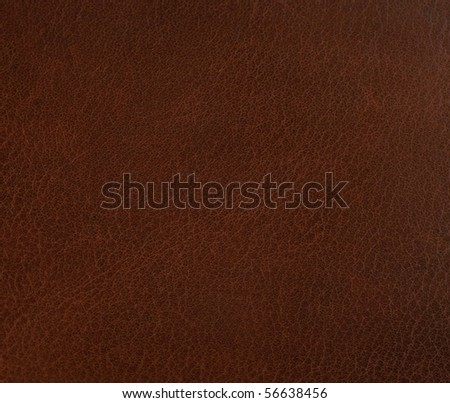 dark leather texture for background - stock photo