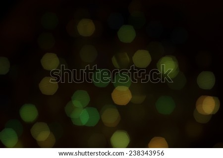 Dark light christmas bokeh background
