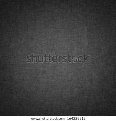 Dark linen texture background with subtle pattern - stock photo