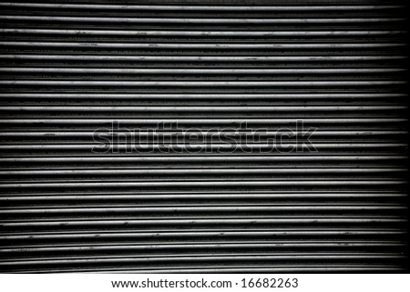 dark metal grill background - stock photo