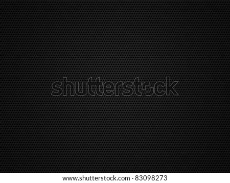 Dark metal mesh - stock photo