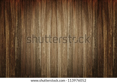 Dark old wood background - stock photo