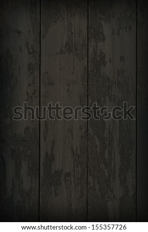 """Dark Old Wood Texture. Background for western-style """"wanted"""" poster - stock photo"""
