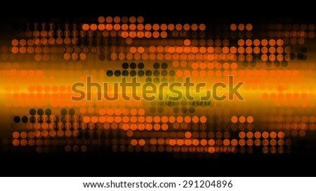 dark orange illustration of technology internet network computer background with binary number, Matrix style background. infographics. Information. motion blur. pixel. text box. - stock photo
