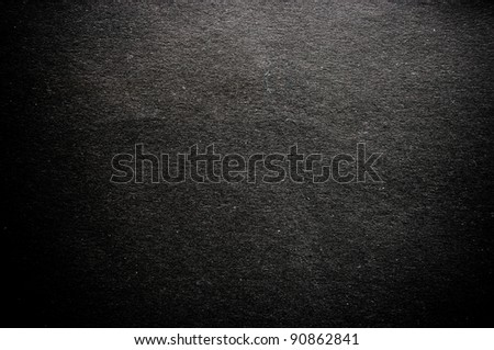 Dark paper texture for background - stock photo