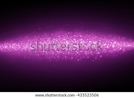 Dark pink glitter sparkles rays lights bokeh Festive Christmas Elegant abstract background.