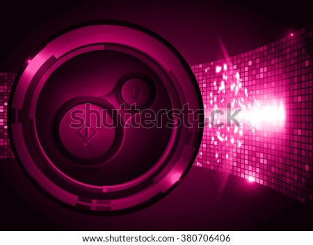 dark pink illustration of technology internet network computer background with binary number, style. infographics. Information. motion blur. pixel. Binary digit. number. Odometer,clock, watch